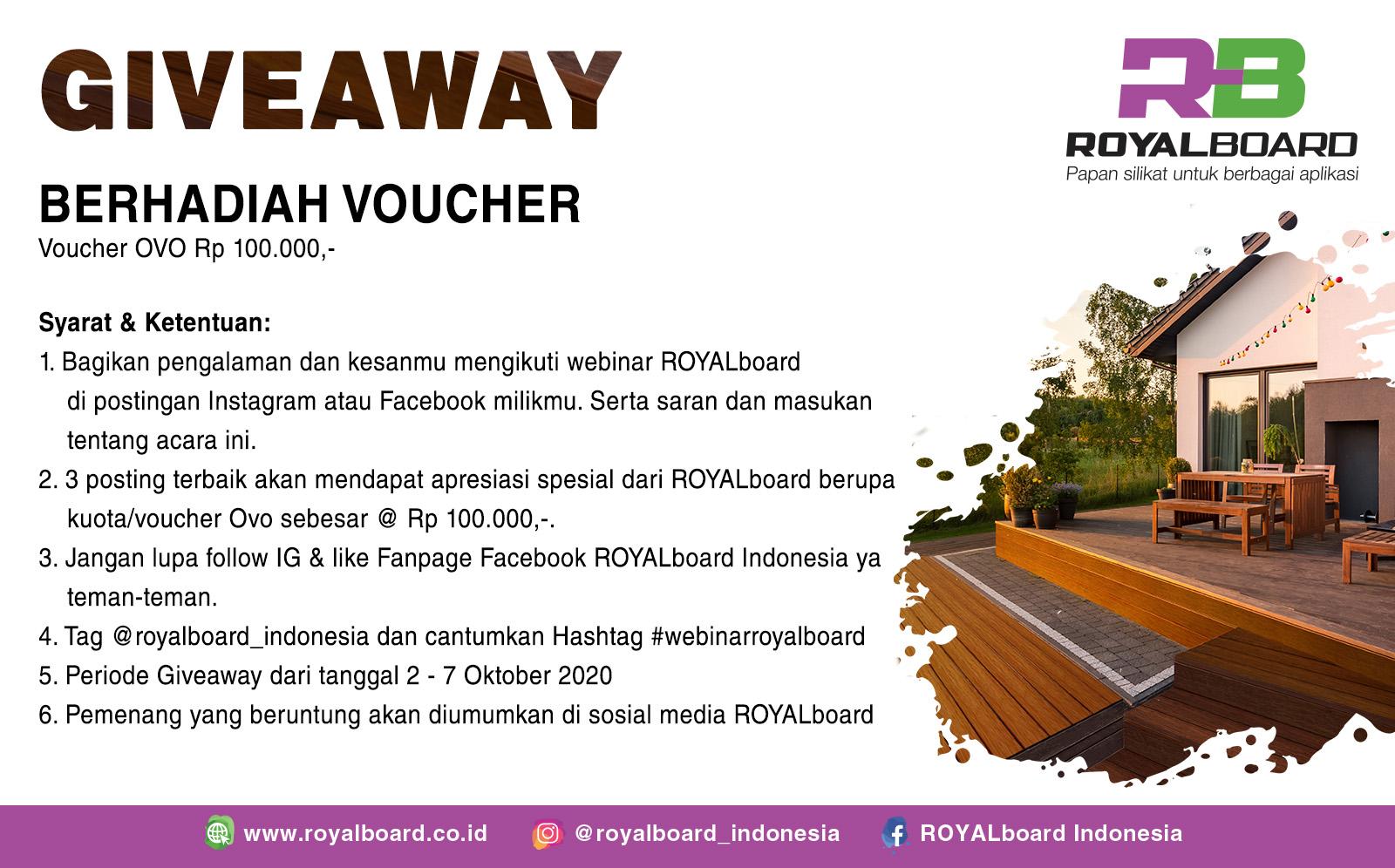 giveaway webinar RB dan BCI Asia